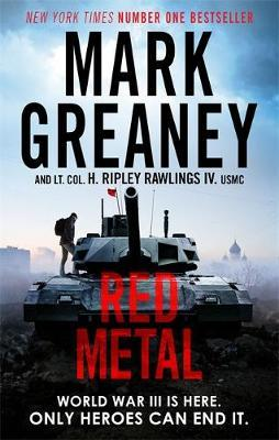 Red Metal by Mark Greaney image