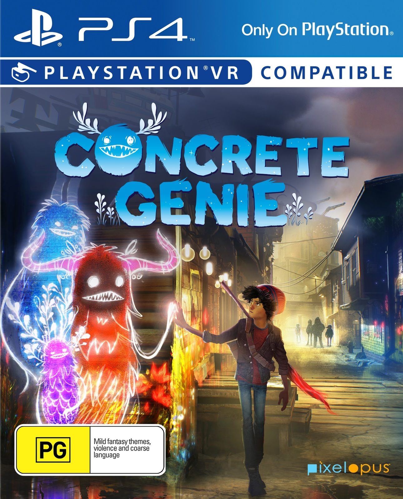 Concrete Genie for PS4 image
