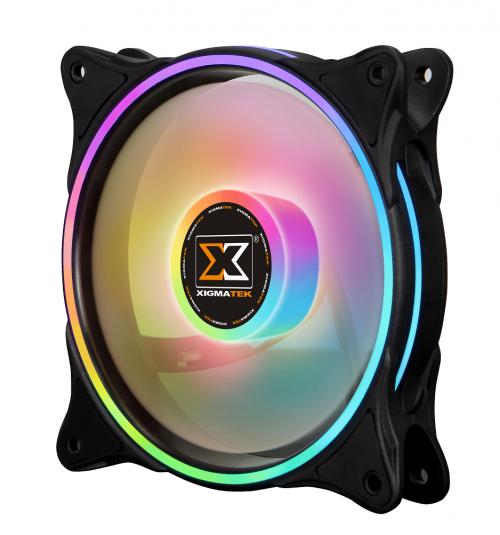 120mm Xigmatek Galaxy II Pro ARGB 3 Fan Kit image