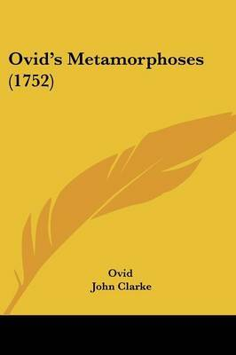 Ovid's Metamorphoses (1752) by Ovid image