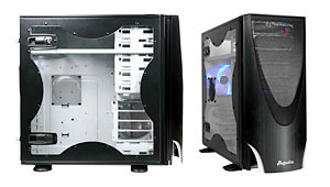 Thermaltake Aguila mid tower case black W/430W PSU