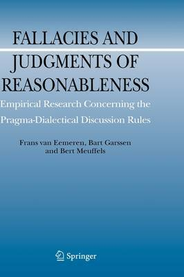Fallacies and Judgments of Reasonableness by Frans H.Van Eemeren