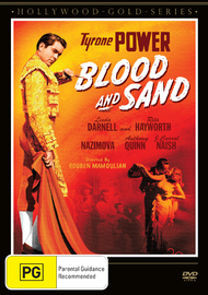 Blood and Sand on DVD