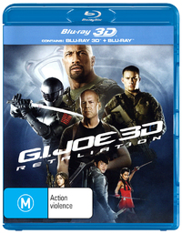 G.I. Joe: Retaliation on Blu-ray, 3D Blu-ray