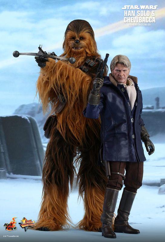 Star Wars: The Force Awakens - Han & Chewbacca Figure Set
