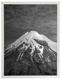 General Eclectic Large Framed Print - Snow Mountain