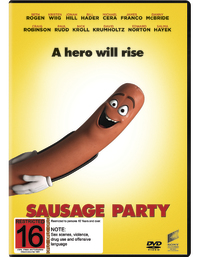 Sausage Party on DVD image
