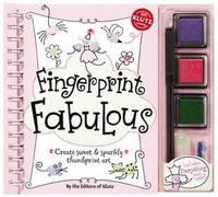 Fingerprint Fabulous: Create Sweet and Sparkly Thumbprint Art by Klutz Press