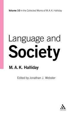 Language and Society by M.A.K. Halliday image