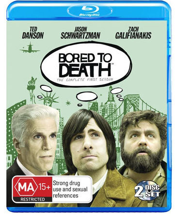 Bored to Death - The Complete First Season on Blu-ray image