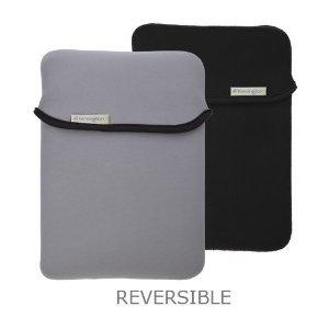 Reversible & Durable Neoprene Sleeve for the Apple iPad - Black/Gray image