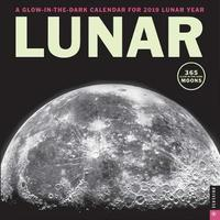 Lunar 2019 Square Wall Calendar by Universe Publishing