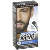 Just For Men Moustache & Beard Colour - Real Black image