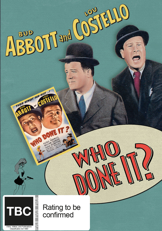 Abbott And Costello: Who Done It? on DVD