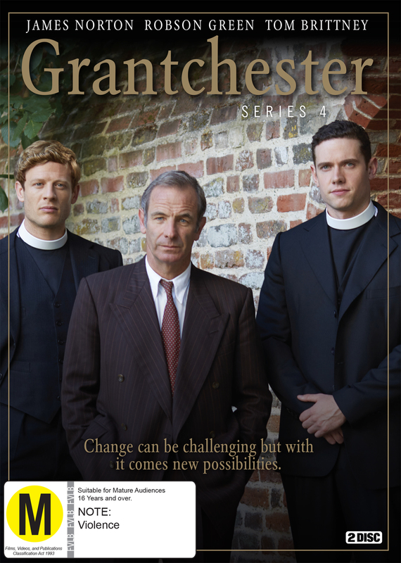 Grantchester Season 4 on DVD