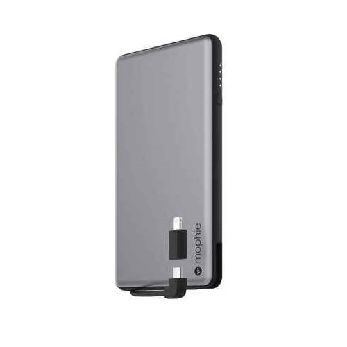 Mophie Powerstation Plus 6000mAh Power Bank (Space Gray)
