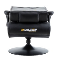BraZen Panther Elite 2.1 Bluetooth Surround Sound Gaming Chair (Red) for