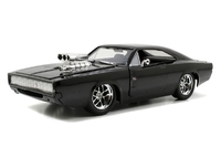 Jada Fast & Furious 7 1970 Dodge Charger Street 1:24 Diecast Model