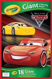 Crayola Giant Colouring Pages - Cars 3