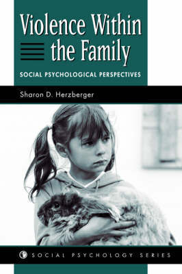 Violence Within The Family by Sharon D. Herzberger image
