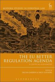 The EU Better Regulation Agenda