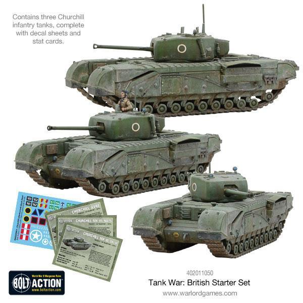 Tank War: British Starter Set image