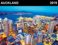 Auckland 2019 Horizontal Wall Calendar