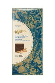 Whittaker's Destination Australia - Caramelised Cashew & Australian Wattleseed (100g)