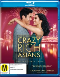 Crazy Rich Asians on Blu-ray
