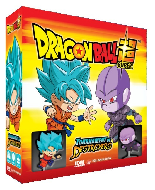 Dragon Ball Super: Tournament of Destroyers - Board Game image