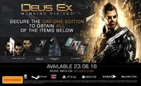 Deus Ex: Mankind Divided Day 1 Edition for Xbox One image