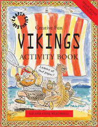 Vikings Activity Book by Sue Weatherill image