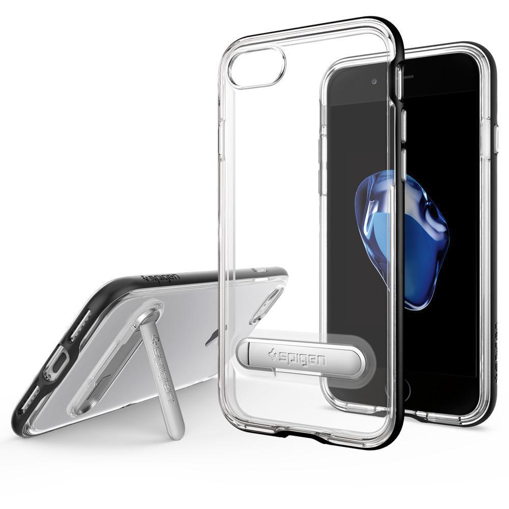 Spigen: iPhone 7 - Crystal Hybrid Case (Black) image