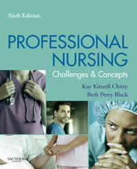 Professional Nursing by Beth Black image