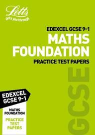 Edexcel GCSE 9-1 Maths Foundation Practice Test Papers by Collins image