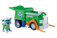 Paw Patrol: Basic Vehicle & Pup - Chase's Transforming Recycling Truck