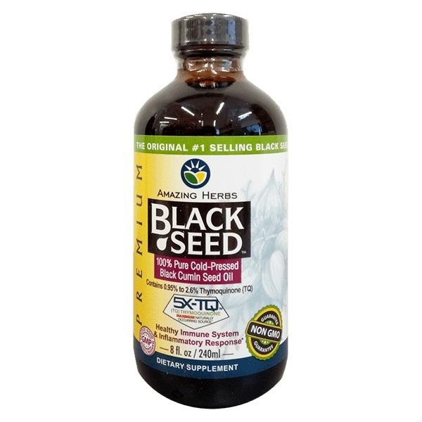 Amazing Herbs Black Seed Premium Oil (240ml) image