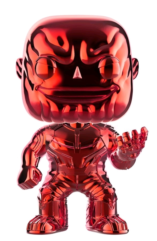 Avengers: Infinity War - Thanos (Red Chrome) Pop! Vinyl Figure