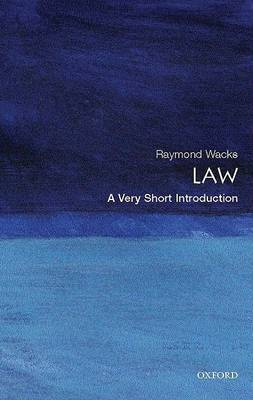 Law: A Very Short Introduction by Raymond Wacks image