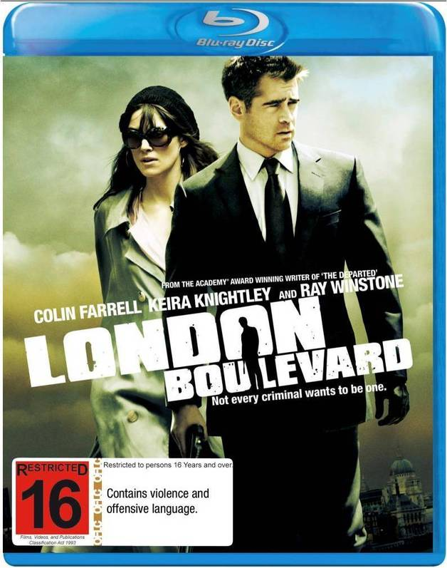 London Boulevard on Blu-ray