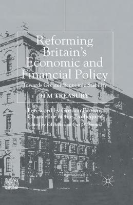 Reforming Britain's Economic and Financial Policy by Great Britain. H.M. Treasury