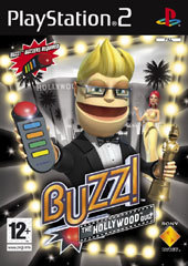 Buzz! Hollywood with 4 Buzzers for PlayStation 2