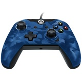 PDP Wired Controller for Xbox One - Camo Blue for Xbox One