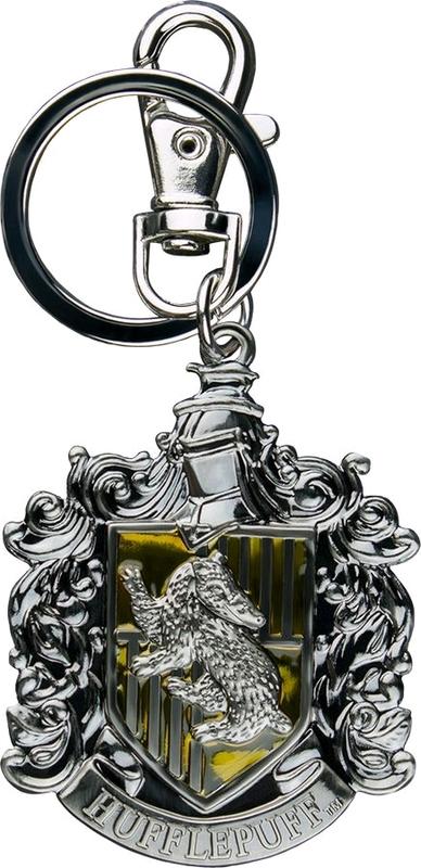 Harry Potter: Metal Keychain - Hufflepuff Logo