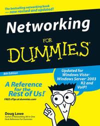 Networking for Dummies by Doug Lowe image