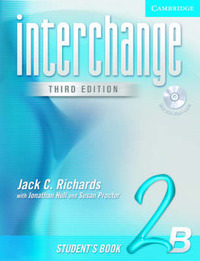 Interchange Student's Book 2B with Audio CD: 2B: Student's Book by Jack C Richards image
