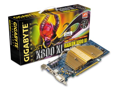 Gigabyte Graphics Card Radeon X800 XL  256M PCIE image