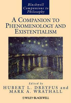 A Companion to Phenomenology and Existentialism image