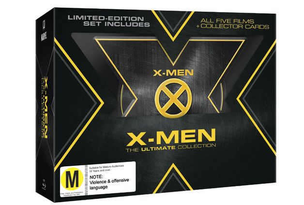 X-Men - The Ultimate Collection on Blu-ray