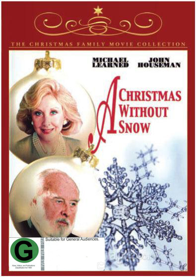 A Christmas Without Snow on DVD